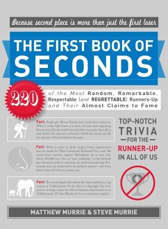 The First Book of Seconds (eBook, ePUB) - Murrie, Matthew
