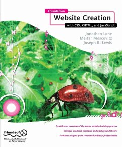 Foundation Website Creation with CSS, XHTML, and JavaScript (eBook, PDF) - Smith, Steve; Lane, Jonathan