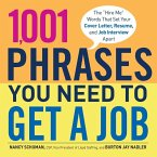 1,001 Phrases You Need to Get a Job (eBook, ePUB)