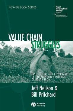 Value Chain Struggles (eBook, ePUB) - Pritchard, Bill; Neilson, Jeff