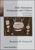 Indo-European Language and Culture (eBook, ePUB)