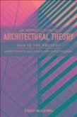 An Introduction to Architectural Theory (eBook, ePUB)