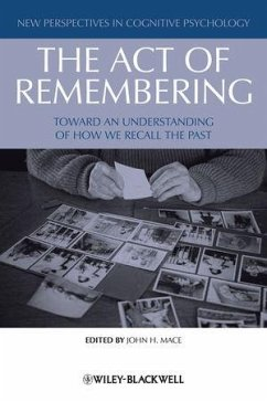 The Act of Remembering (eBook, ePUB)