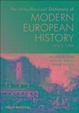 The Wiley-Blackwell Dictionary of Modern European History Since 1789 (eBook, ePUB)