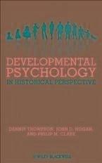 Developmental Psychology in Historical Perspective (eBook, PDF)