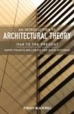 An Introduction to Architectural Theory (eBook, PDF)