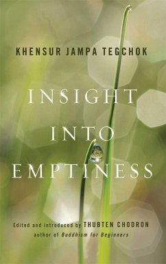 Insight into Emptiness (eBook, ePUB) - Tegchok, Jampa