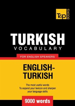 Turkish vocabulary for English speakers - 9000 ...