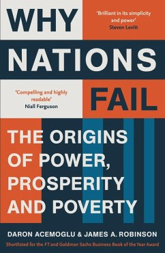 Why Nations Fail (eBook, ePUB) - Acemoglu, Daron; Robinson, James A.