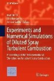 Experiments and Numerical Simulations of Diluted Spray Turbulent Combustion (eBook, PDF)