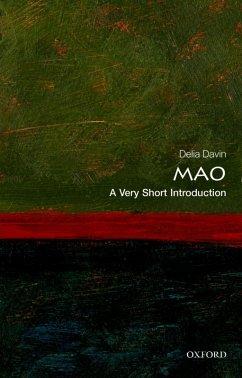 Mao: A Very Short Introduction (eBook, ePUB) - Davin, Delia