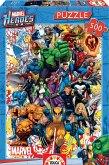 Carletto 9215560 - Educa, Marvel Heroes Superhelden, Comic-Puzzle, 500 Teile