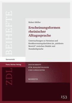 Erscheinungsformen rheinischer Alltagssprache (eBook, PDF) - Möller, Robert