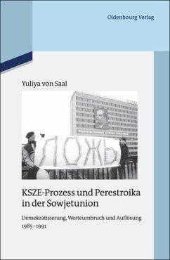 KSZE-Prozess und Perestroika in der Sowjetunion - Saal, Yuliya von