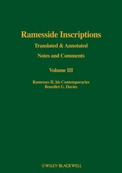 Ramesside Inscriptions, Ramesses II, His Contemporaries: Translated and Annotated, Notes and Comments - Davies, Benedict G.