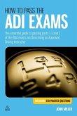 How to Pass the ADI Exams (eBook, ePUB)