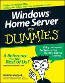 Windows Home Server For Dummies (eBook, PDF)