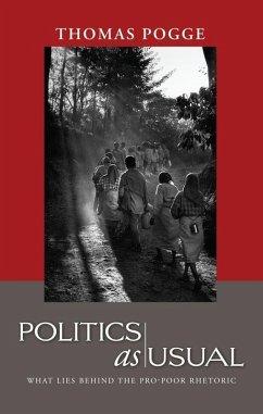 Politics as Usual (eBook, ePUB) - Pogge, Thomas W.