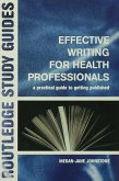 Effective Writing for Health Professionals (eBook, ePUB)