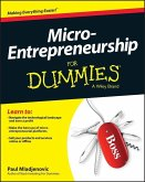 Micro-Entrepreneurship For Dummies (eBook, PDF)