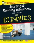 Starting and Running a Business All-in-One For Dummies (eBook, ePUB)