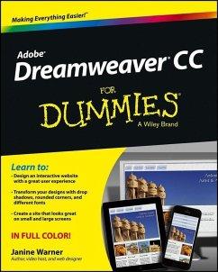 Dreamweaver CC For Dummies (eBook, ePUB) - Warner, Janine