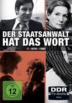 Der Staatsanwalt hat das Wort - Box 5: 1978-1980 DVD-Box - Staatsanwalt Hat Das Wort,Der