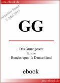 GG - Grundgesetz für die Bundesrepublik Deutschland (eBook, ePUB)