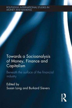 Towards a Socioanalysis of Money, Finance and Capitalism (eBook, ePUB)