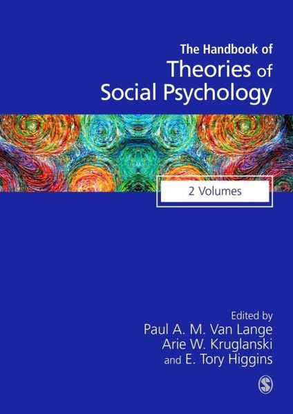 Handbook Of Theories Of Social Psychology Ebook Pdf Portofrei