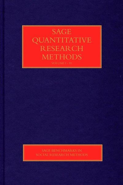SAGE Quantitative Research Methods (eBook, PDF)