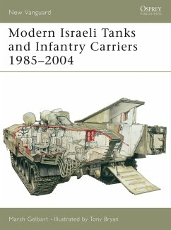 Modern Israeli Tanks and Infantry Carriers 1985-2004 (eBook, ePUB) - Gelbart, Marsh