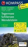 Kompass Karte Tegernsee - Schliersee - Wendelstein