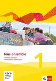 Tous ensemble 1. Cahier d'activités mit MP3-CD und Vokabeltrainer. Ausgabe 2013