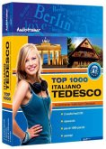 Top 1000 Audiotrainer Italienisch-Deutsch / Italiano-Tedesco, 2 Audio/mp3-CDs m. Buch