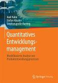 Quantitatives Entwicklungsmanagement (eBook, PDF)