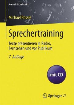 Sprechertraining (eBook, PDF) - Rossié, Michael