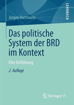 Das politische System der BRD im Kontext (eBook, PDF) - Hartmann, Jürgen
