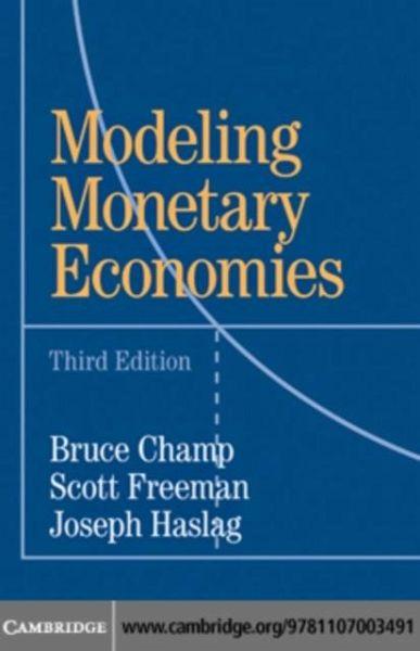 modeling monetary economics solution manual