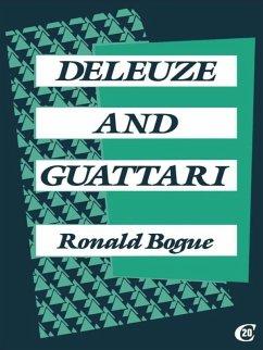 Deleuze and Guattari (eBook, ePUB) - Bogue, Ronald