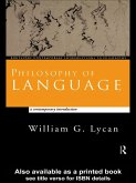 Philosophy of Language (eBook, PDF)