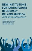 New Institutions for Participatory Democracy in Latin America (eBook, PDF)