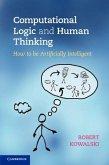 Computational Logic and Human Thinking (eBook, PDF)