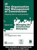The Organization and Management of Construction (eBook, ePUB)