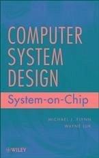 Computer System Design Ebook Pdf Von Michael J Flynn Wayne Luk Portofrei Bei Bucher De