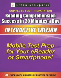 Reading Comprehension Success in 20 Minutes a Day (eBook, ePUB) - Llc, Learning Express