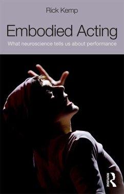 Embodied Acting (eBook, PDF) - Kemp, Rick