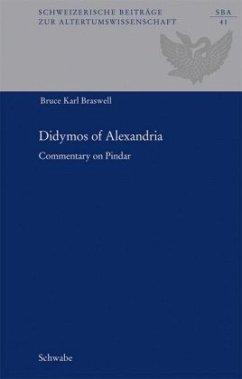 Didymos of Alexandria - Braswell, Bruce K.