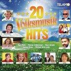 20 Volksmusik Hits, 1 Audio-CD