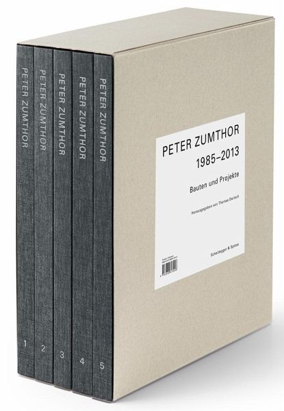Peter Zumthor von Peter Zumthor Buch buecher.de